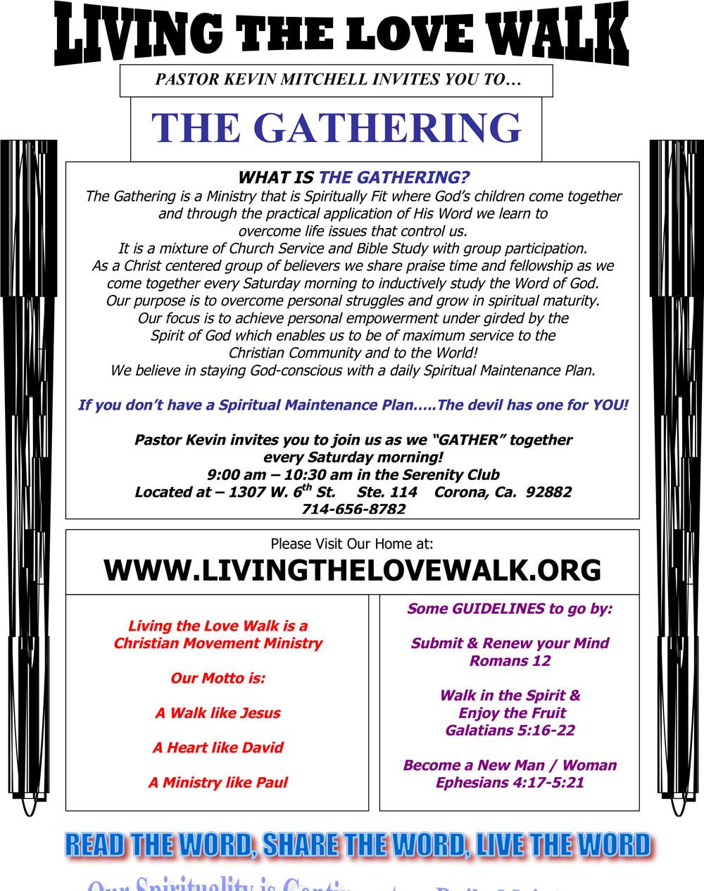 The Gathering, Corona, CA