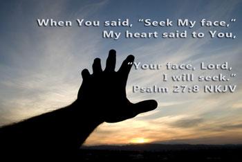 Prayer of the Week: Seek My Face  